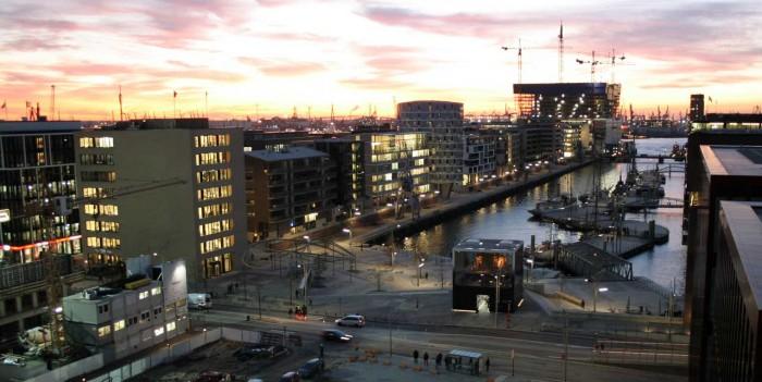 Hafencity-Pavillon Elbphilharmonie