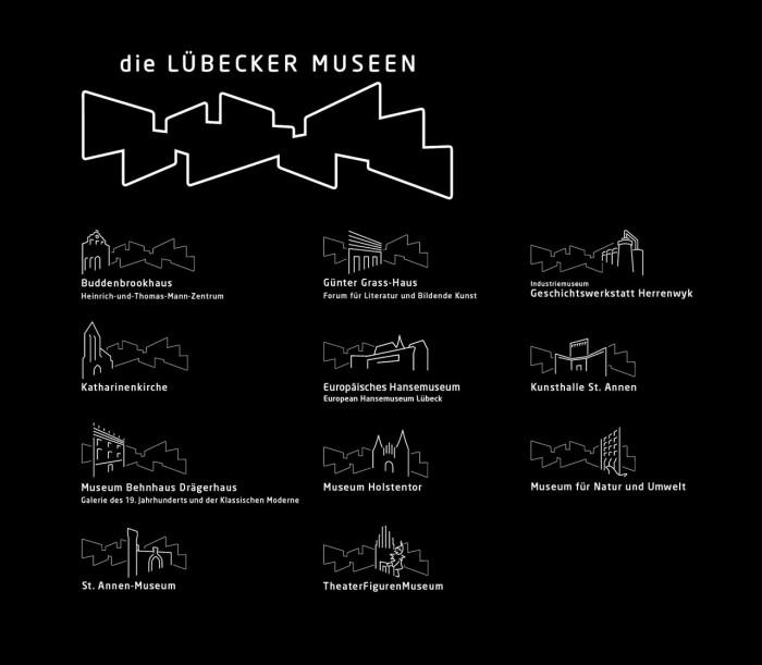 Lübecker-Museen_Logos_sw