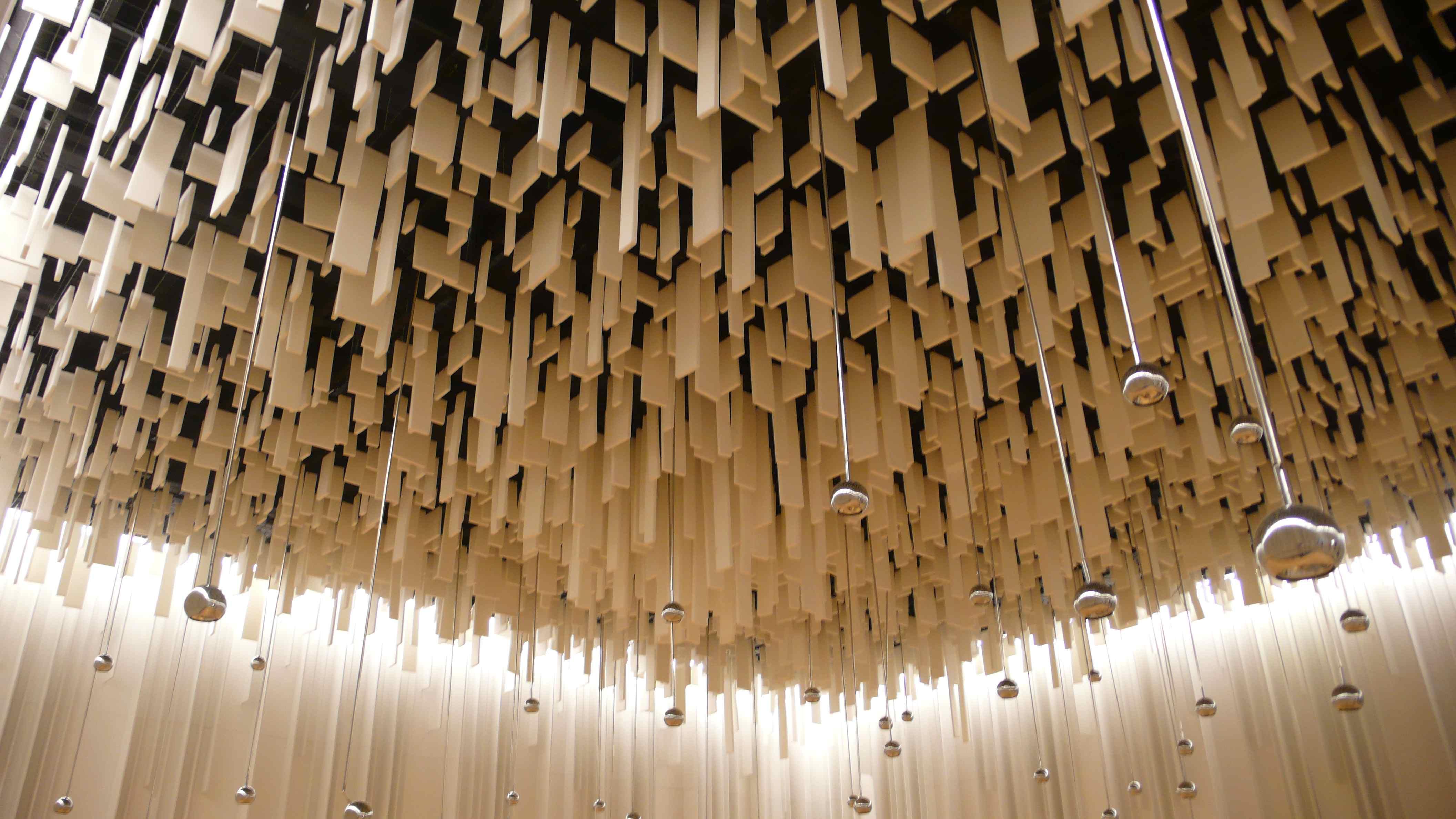 Wand  Und Deckengestaltung In Der Ausstellungshalle Des Neubaus. Foto ©  Andreas Heller Architects U0026 Designers